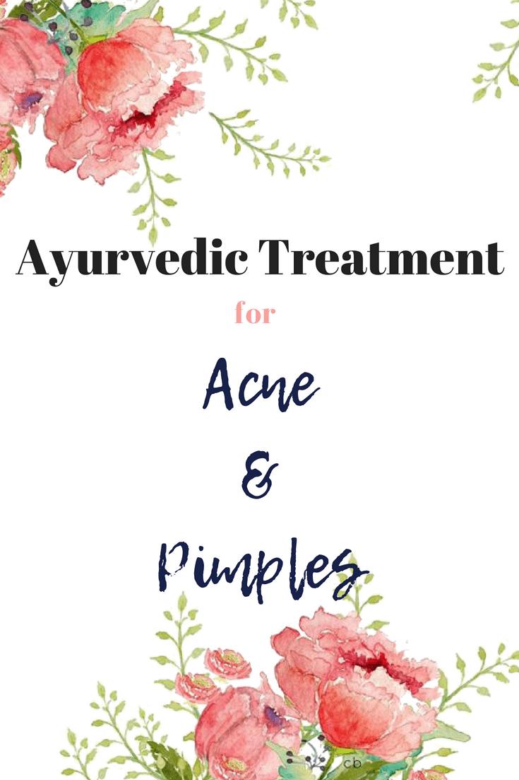 Ayruvedic Natural Best Acne Treatment