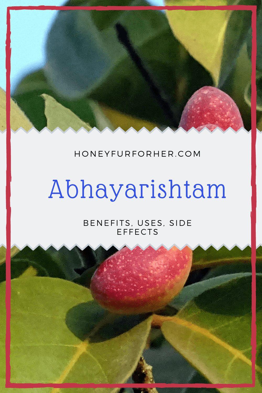 Abhayarishta (Abhayarishtam) : Uses, Benefits, Dosage, & Side-Effects #ayurvedicmedicine #ayurveda #ayurvedalife #honeyfurforher