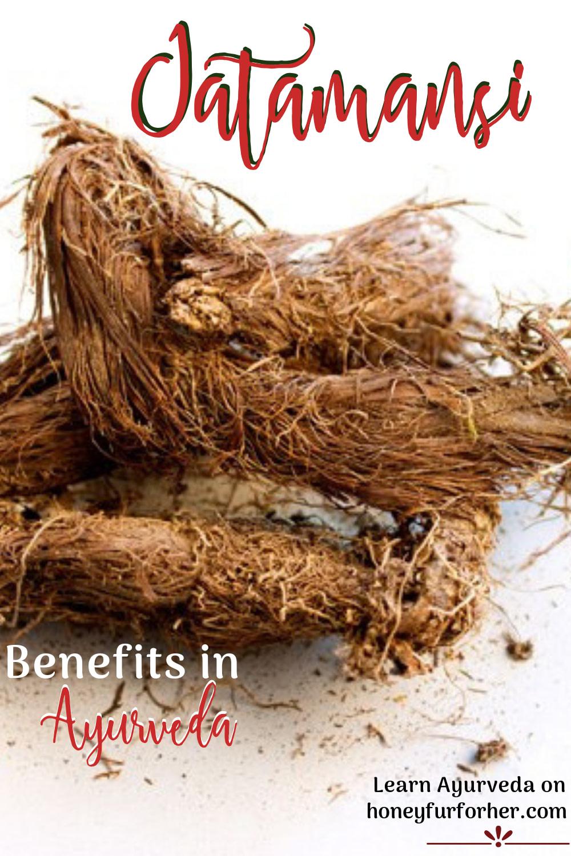 Jatamansi Benefits Pinterst Pin