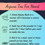 Arjuna Tea How To Make Pinterest Image