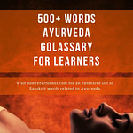 Ayurveda Glossary Dictionary Pinterest Pin 2