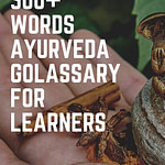 Ayurveda Glossary Dictionary Pinterest Pin 3
