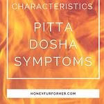 Pitta Body Type - Dosha Symptoms Pinterest Pin 1