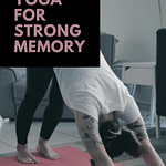Yoga for memory and concentration pinterest pin 2