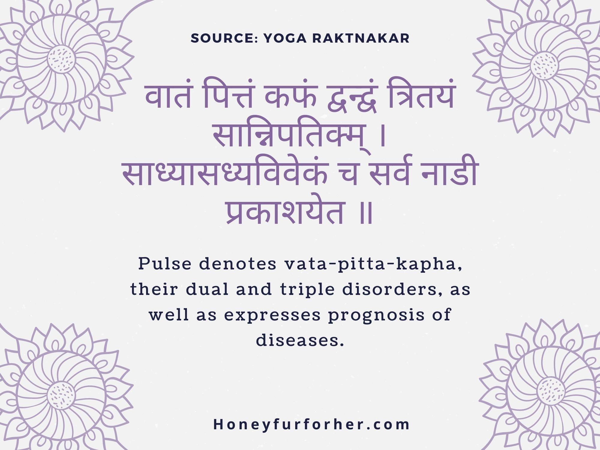 Ayurveda Quotes - Nadi Prediction