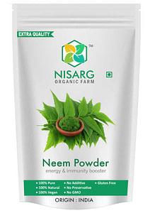 neem powder front
