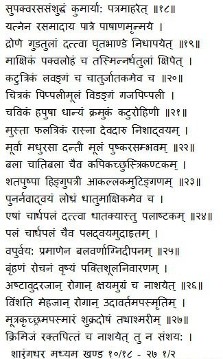 Kumaryasavam Kumari Asava Shloka