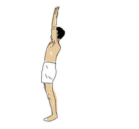 Hastha Uttanasana (Raised Arms Pose)