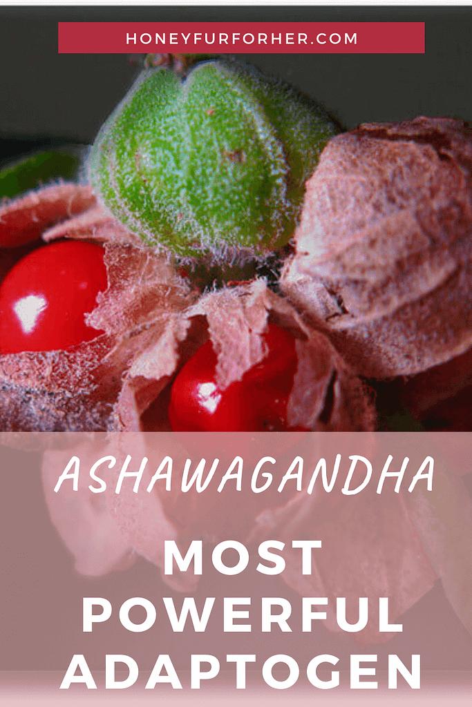 Ashwagandha Pinterest Pin Graphic
