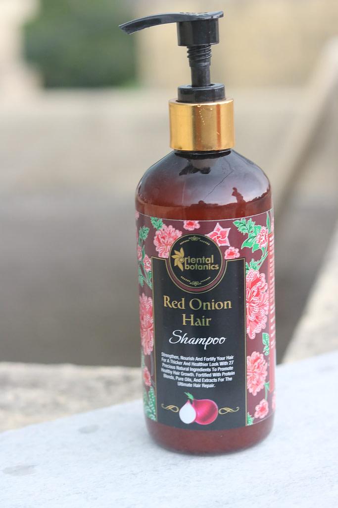 Oriental Botanicals Red Onion Shampoo
