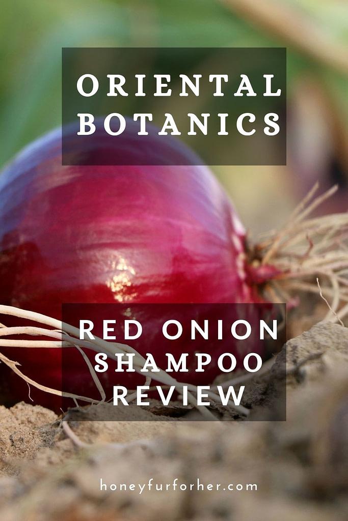 Oriental Botanics Shampoo Review Pinterest Graphics