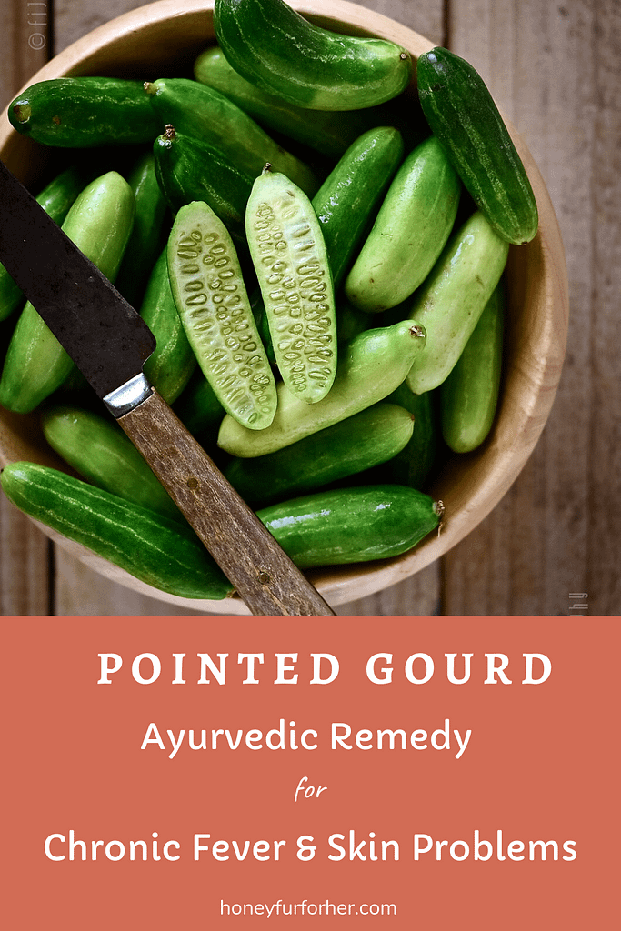 Pointed Gourd Pinterest Graphic
