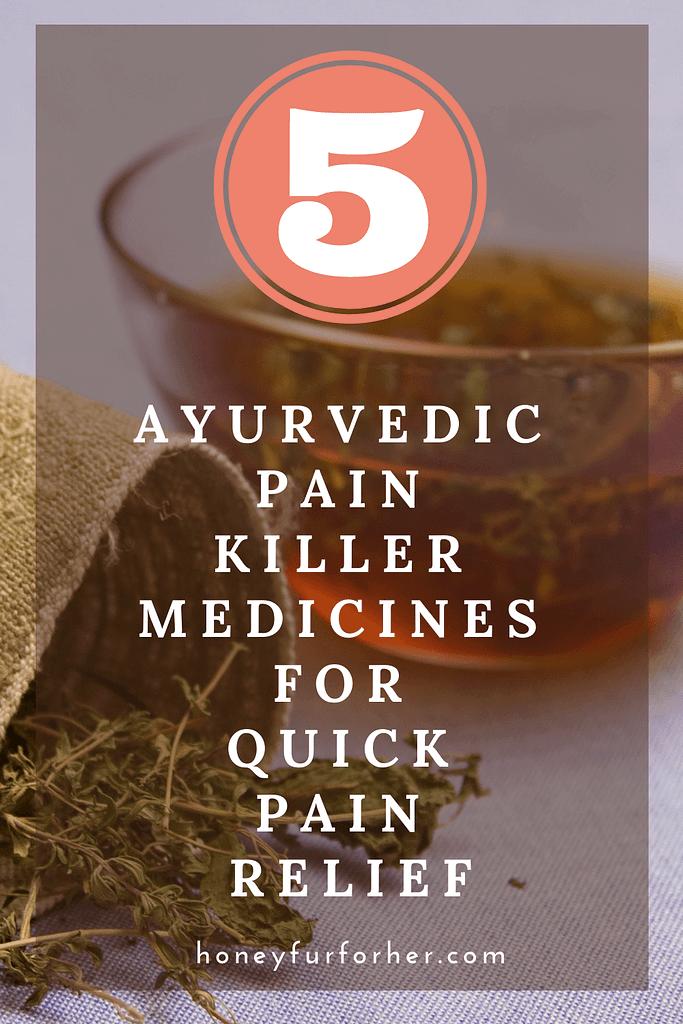 Top 5 Ayurvedic Pain Killer Medicines / Tablets (Vati) / Kashyam For Chronic Pain Relief, Anti Inflammatory, Quick Relief Pain Killers #herbsforhealth #healthsupplements #naturalsupplements #ayurveda #ayurvedalife #honeyfurforher