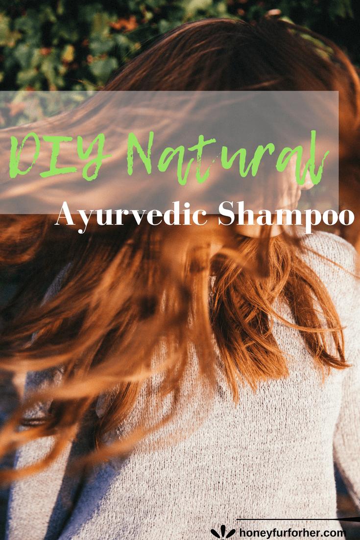 DIY Natural Ayurvedic Shampoo For Hair Care