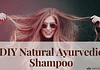 DIY Natural Ayurvedic Shampoo Feature Image