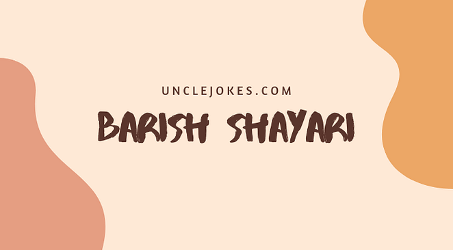 Barish Shayari Feature Image