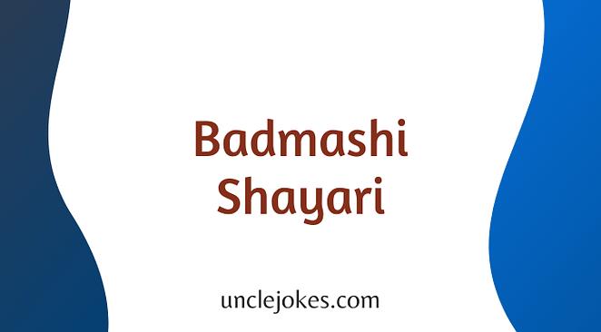 Badmashi Shayari Feature Image