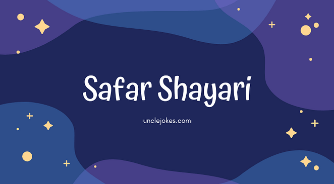 Safar Shayari In Hindi Feature Image