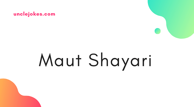 Maut Shayari Feature Image