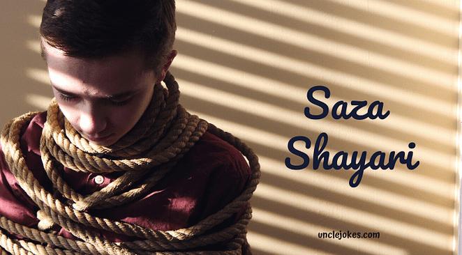 Saza Shayari Feature Image