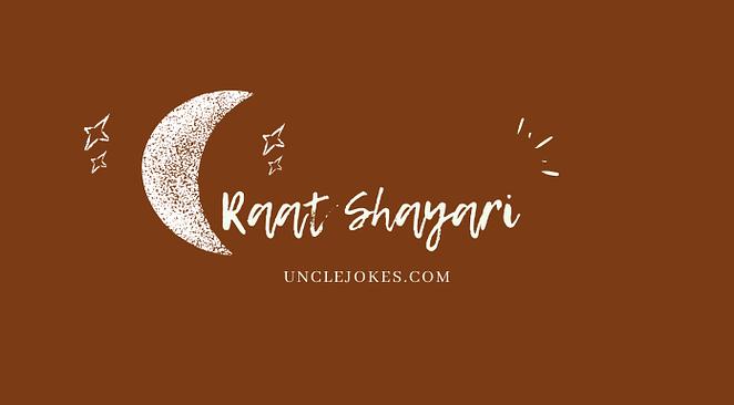 Raat Shayari Feature Image