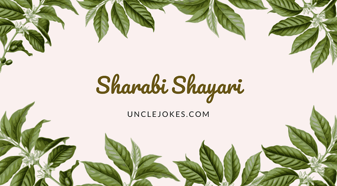 Sharabi Shayari Feature Image