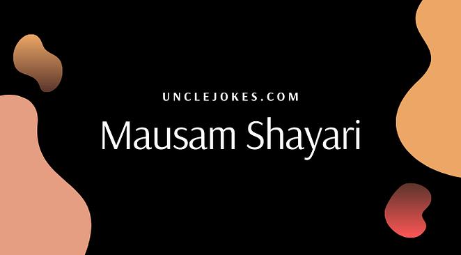 Mausam Shayari Feature Image