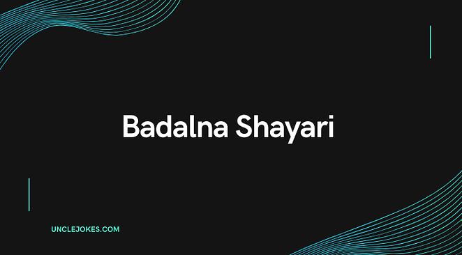 Badalna Shayari Feature Image
