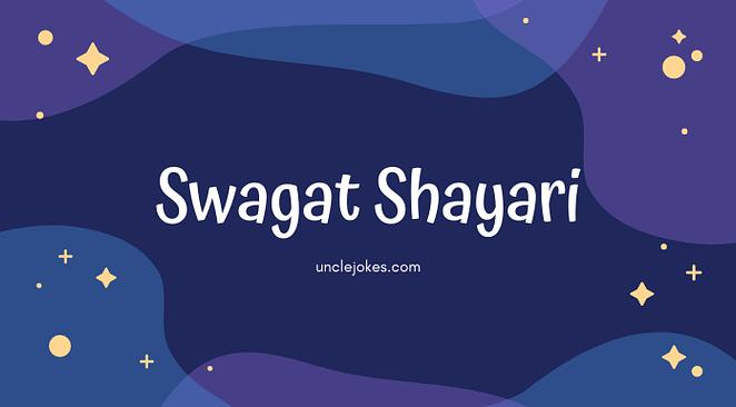 Swagat Shayari Feature Image