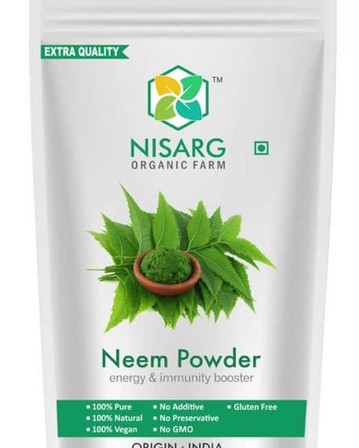 neem powder front