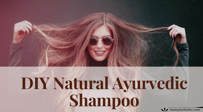 DIY Natural Ayurvedic Shampoo Feature Image