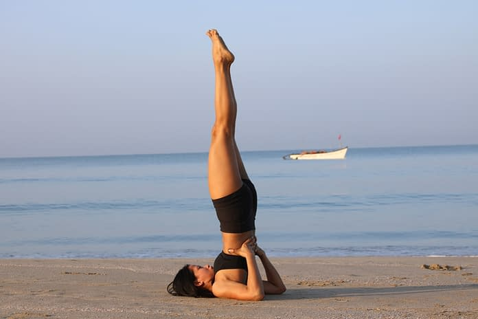 Salamba Sarvangasana - Should Stand Pose